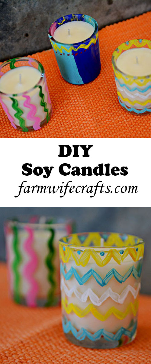 Easy to make soy candles