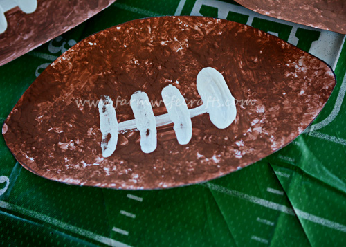 These football crafts are easy and fun for any football lover.