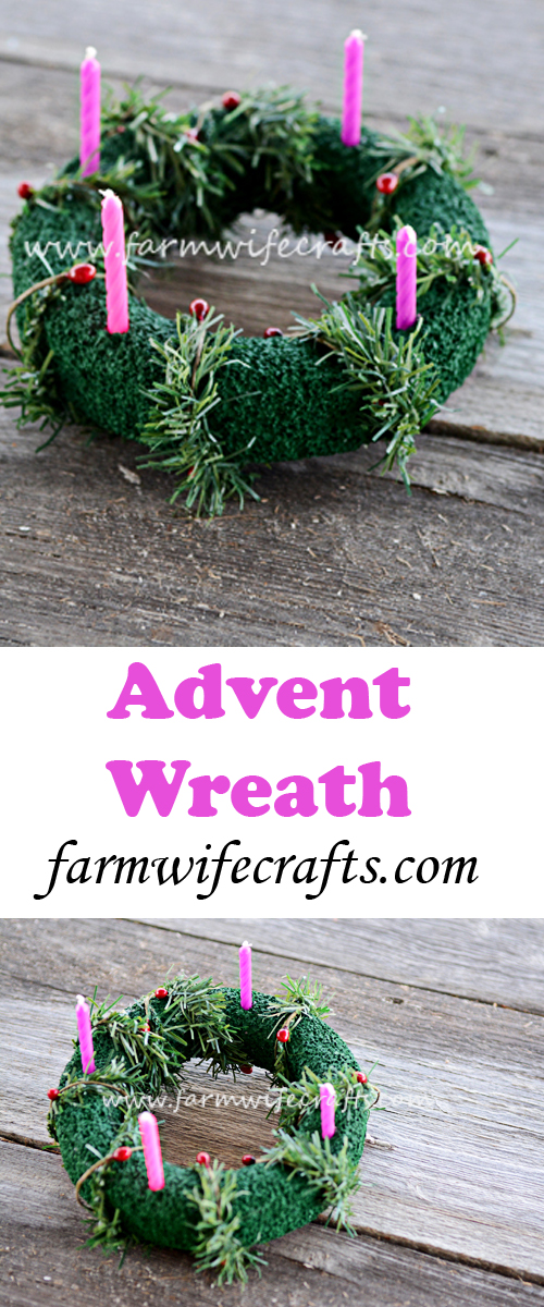 A fun and religious way to help kids countdown the weeks of Advent until Christmas.