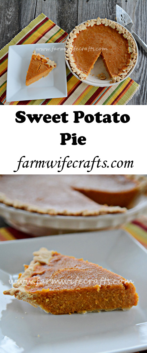 A tradition for many families on Thanksgiving. This sweet potato pie is the perfect addition to any Thanksgiving meal.