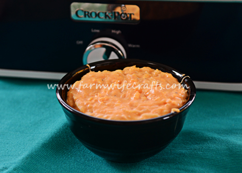 This crockpot Buffalo Chicken Dip is a crowd pleaser and can be made in the crockpot.