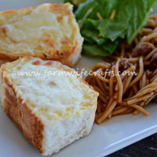 Mom's Easy Cheesy Garlic Bread