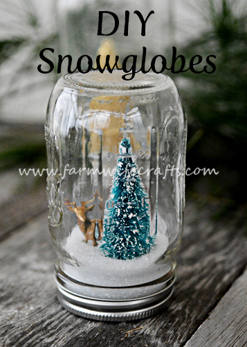 Add some DIY to your gift giving this season with these DIY Snowglobes. They make great teacher gifts too!