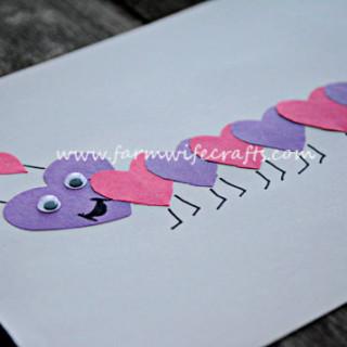 Heart Caterpillars