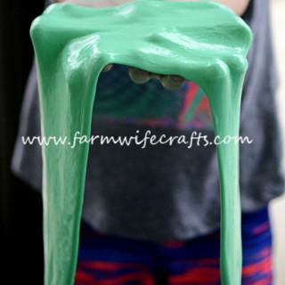 Green Flubber
