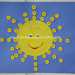 Yellow Cupcake Liner Sunshine