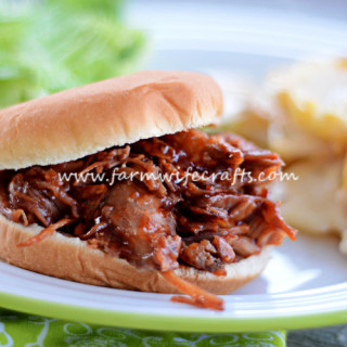 Crockpot Cola BBQ Pulled Pork