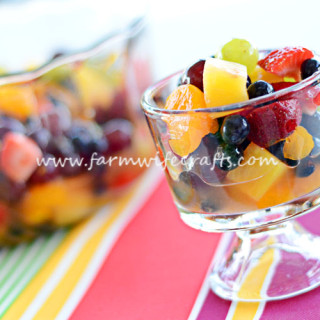 Marinated Fresh Fruit Salad