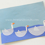 Cupcake Liner Duck Craft