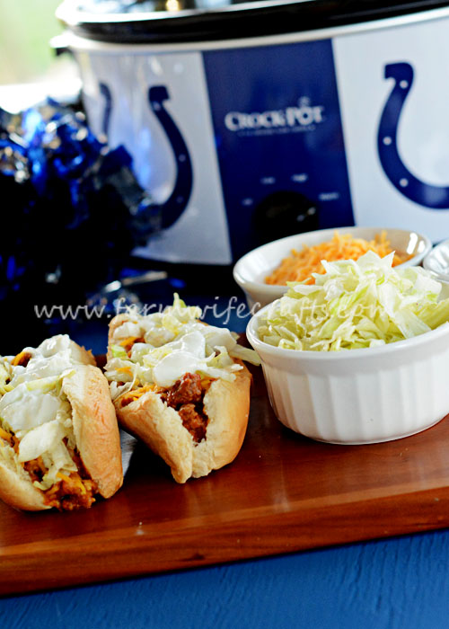 The crockpot taco joes are a perfect new spin on traditional tacos.