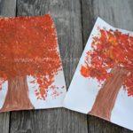 Tree Foil Painting….
