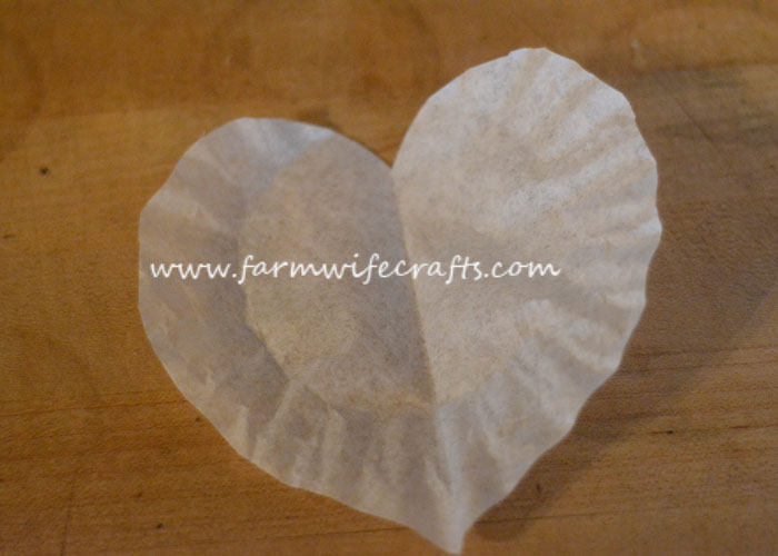 These coffee filter heart suncatchers are simple and easy to make. The bright colors look great in the window.