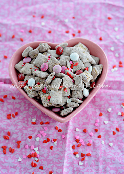 Are you looking for a Valentine's Day treat that your loved ones won't be able to resist? This Valentine's Puppy Chow is exactly what you need in your life. It's so easy to make and the perfect mixture of sweetness to make your mouth water! It's so good in fact, you may want to make it more often than just Valentine's Day.