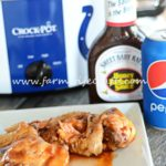 Slowcooker Honey BBQ Wings