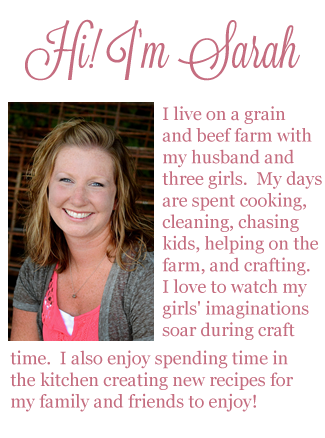 About Sarah from The Farm Wife Crafts