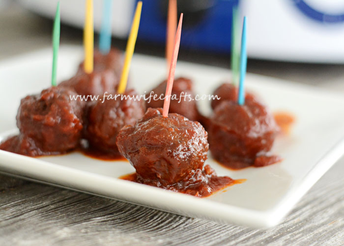 I love a good meatball recipe! This recipe for Sweet and Spicy Meatballs is sure to spice up your tastebuds!