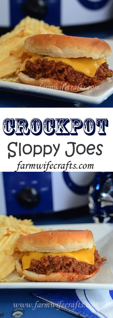 These Crockpot Sloppy Joes are simple to make, yet so, so good!
