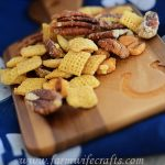 Crockpot Cornbread Chex-Mix