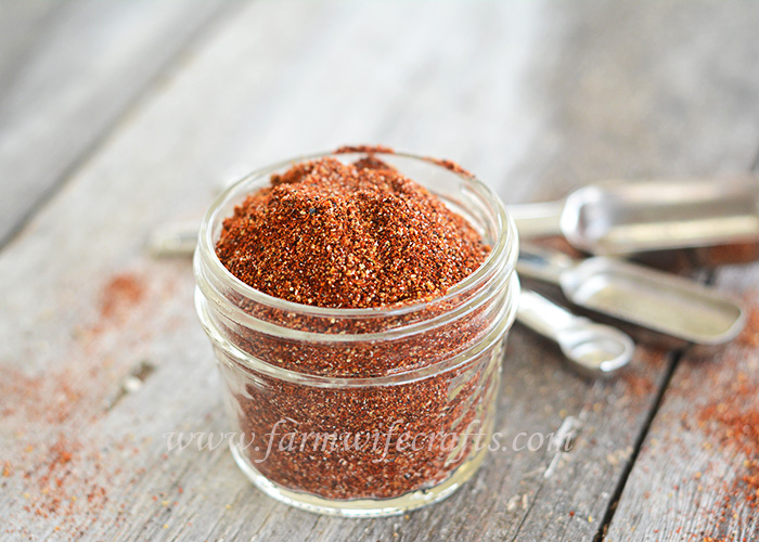 This homemade taco seasoning is a great way to always have the most important ingredient on hand at all times.