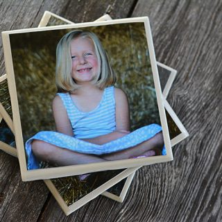 Easy DIY Photo Coasters…The Perfect Mother's Day Gift