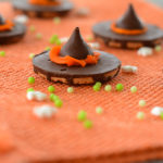 No-Bake Witch Hat Cookies