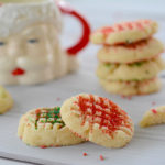 Whipped Shortbread Christmas Cookies