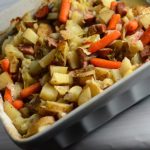 Hobo Casserole with Smoked Sausage