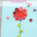 Button Flower Craft
