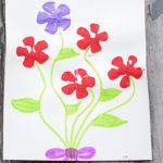 Pop Bottle Flower Painting
