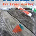 Floating Dry Erase Marker