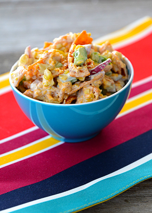 Are you looking for a different type of salad that you can take to pitch-ins this summer? This Frito Corn Salad is just what you need in your life!