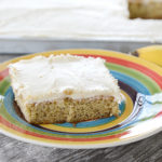 Banana Bars with Cream Cheese Icing