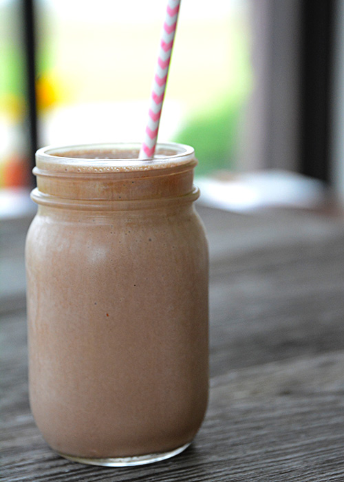 June is dairy month and since dairy farming is in my blood, we love celebrating dairy farmers around our house. What better way to celebrate in the hot month of June than with this refreshing 3 ingredient chocolate milkshake?!