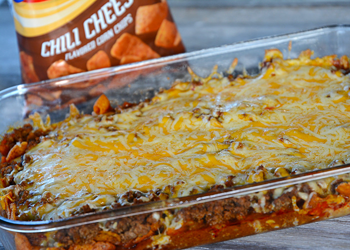 Things are starting to get busy again, so if you're looking for an easy weeknight meal that will please everyone in your family, look no further.  This Walking Taco Casserole recipe is the ticket!