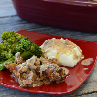 I don't know about you, but cooler temps make me crave comfort food. One of our family's favorite meals is Poor Man's Salisbury Steak.