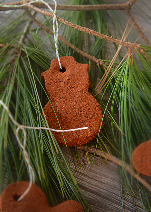 Are you looking for a simple ornament to make with your kids this season? Or maybe you just enjoy some alone time spent crafting. These DIY Cinnamon Christmas Ornaments are so easy to make and they smell heavenly!