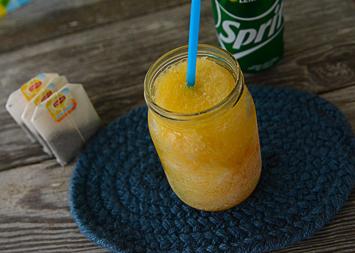 Do you love a good drink recipe that tastes like the holidays? This Whiskey Slush recipe is your ticket!