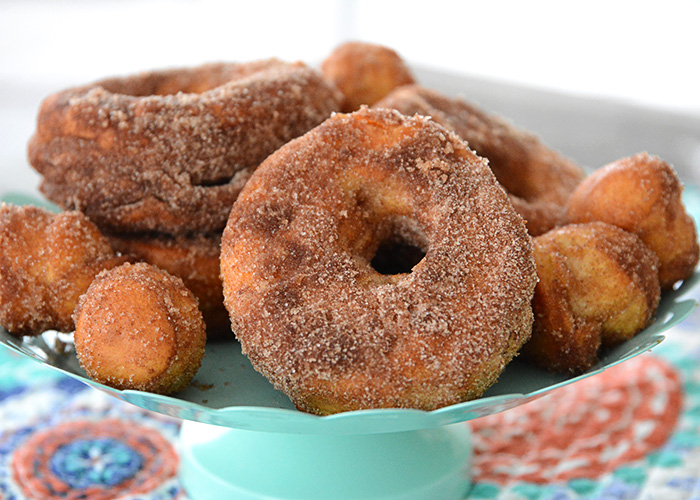 Who loves donuts? Who doesn't have a donut shop within a 15 mile radius of their house? Both of those questions apply at our house, so when I discovered you could make donuts in your air fryer, I couldn't wait to make them! These Easy to Make Air Fryer Donuts will be a hit in your house!